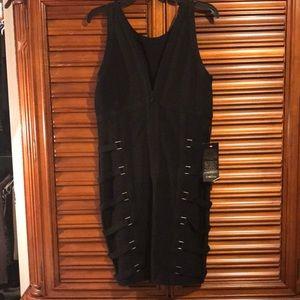Bebe Black Spandex dress
